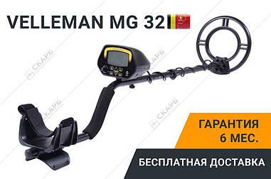 Металлоискатель Металошукач Velleman MG 32 с числовой дискриминацией, металоискатель