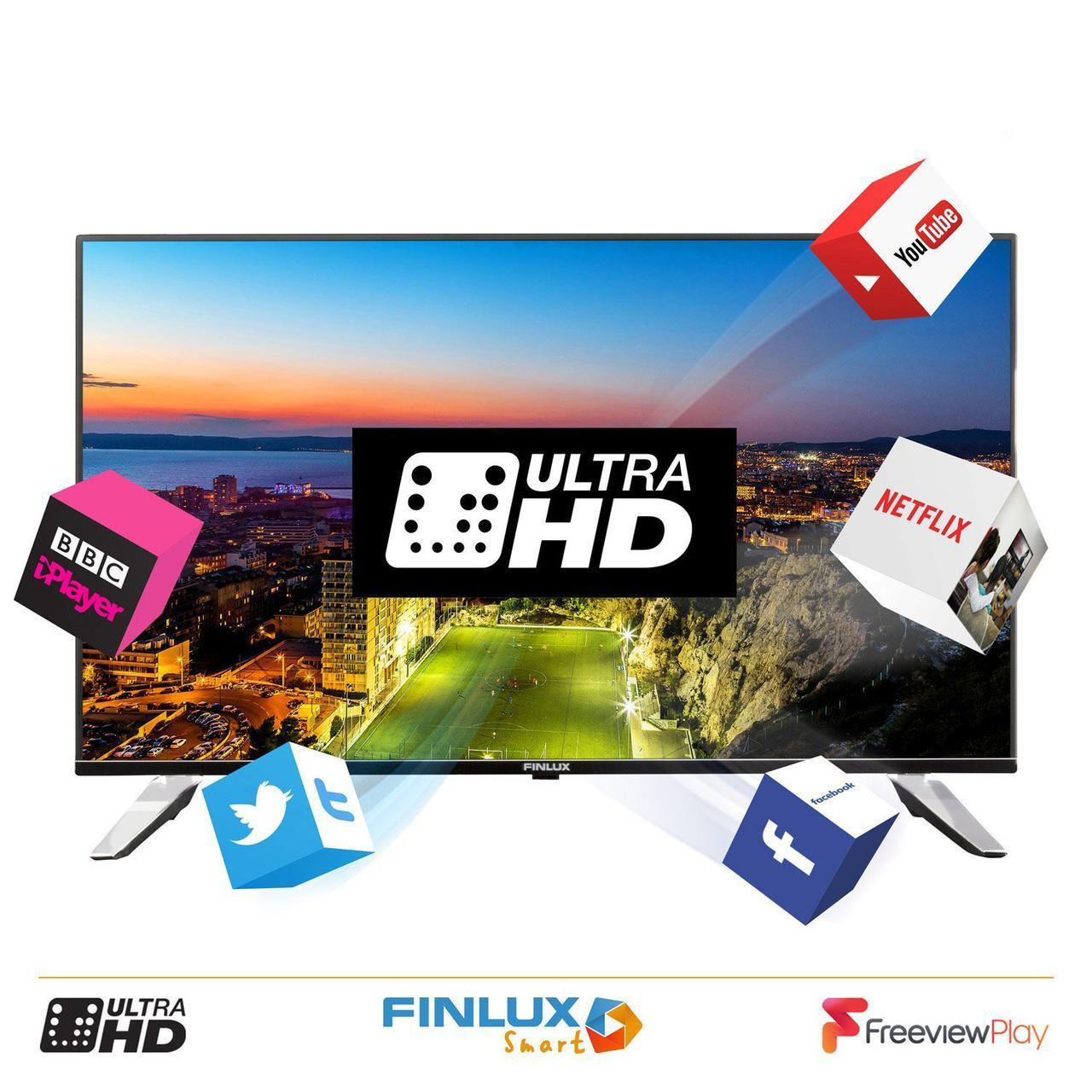 Телевизор Finlux 43 Smart WiFi T2 (Германия)
