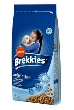 Сухой корм Brekkies Dog Junior 20 кг. для щенков и молодых собак