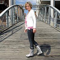 Женские резиновые сапоги, калоши, гумаки, чоботи Германия , фото 1