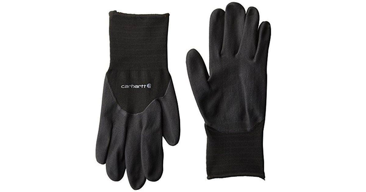 Carhartt мужские теплые перчатки с нитриловым покрытием