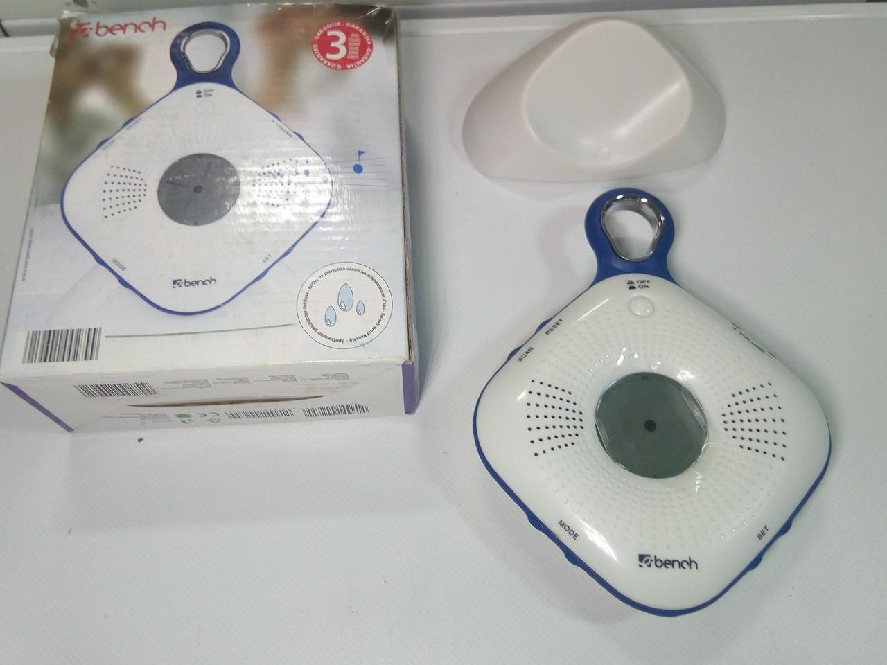 Радио-часы в ванную комнату