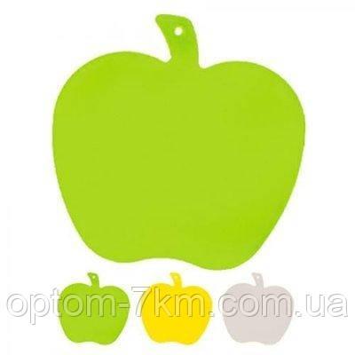 Доска разделочная пластиковая Яблуко 220*180 мм