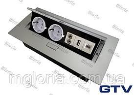 Встраиваемая розетка GTV