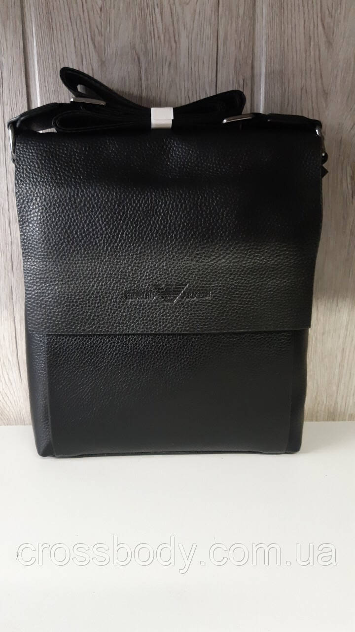 263bbf02612a Мужская сумка Giorgio Armani кожа - Интернет - магазин