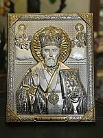 Икона Николай Чудотворец New Daniel серебро
