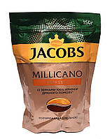 Кофе растворимый с добавлением молотого Jacobs Millicano Espresso 150 г (52913)