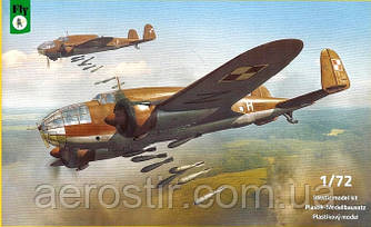 PZL.37B - Łoś B 1/72 FLY 72042
