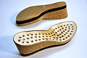 Подошва для обуви женская C-406 пробка р.36,40, фото 2