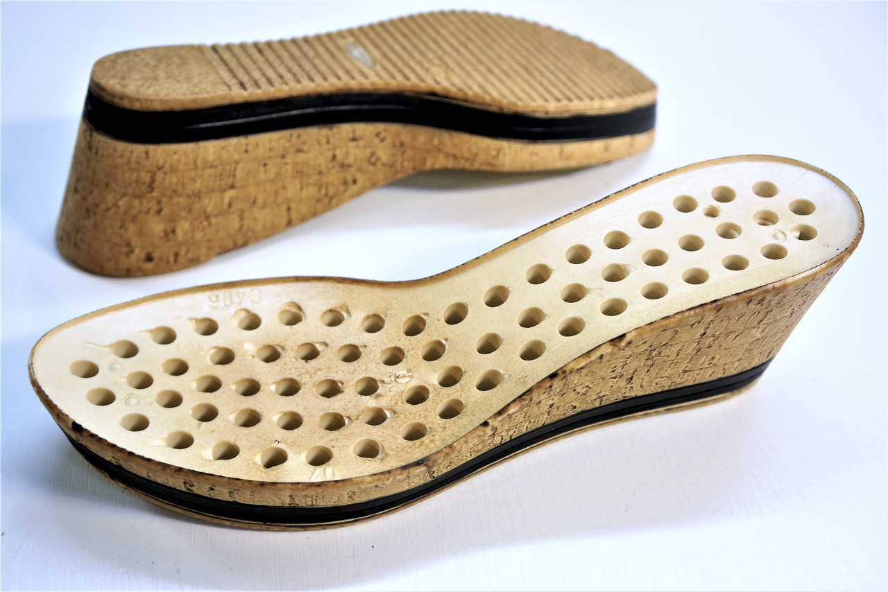Подошва для обуви женская C-406 пробка р.36,40