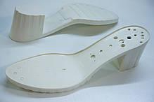 Подошва для обуви женская С523 бел р36-41, фото 3