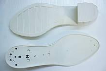 Подошва для обуви женская С523 бел р36-41, фото 2