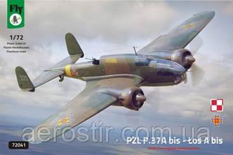 PZL.37A bis - Łoś A bis 1/72 FLY 72041