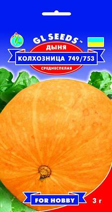 Дыня Колхозница, пакет 3г - Семена дыни, фото 2