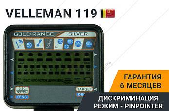 Металлоискатель Velleman 119 + Наушники в подарок!, фото 2