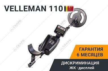 Металлоискатель Металошукач Velleman 110, металоискатель