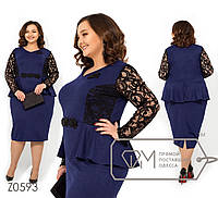 Стильное платье     (размеры 56-62)  0146-79, фото 1