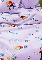"""Детское постельное белье в кроватку """"Холодное сердце """""""