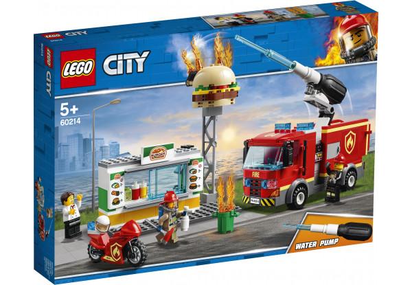 Lego City Пожежа в бургер-кафе 60214