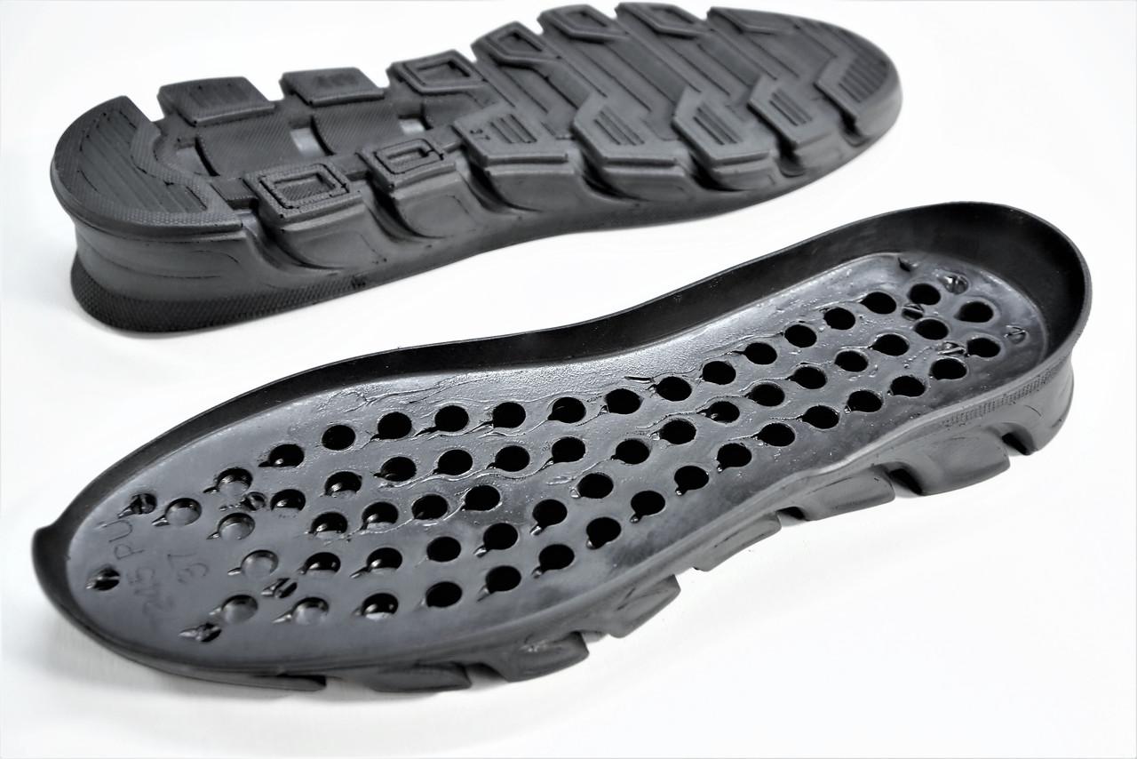 Подошва для обуви женская 7245 чорн р.35-42