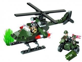 Конструктор Brick 806 Военный Вертолет