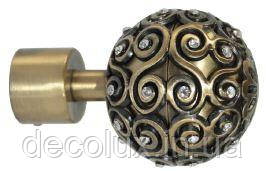 Наконечник на карниз кований 19 мм EG 214