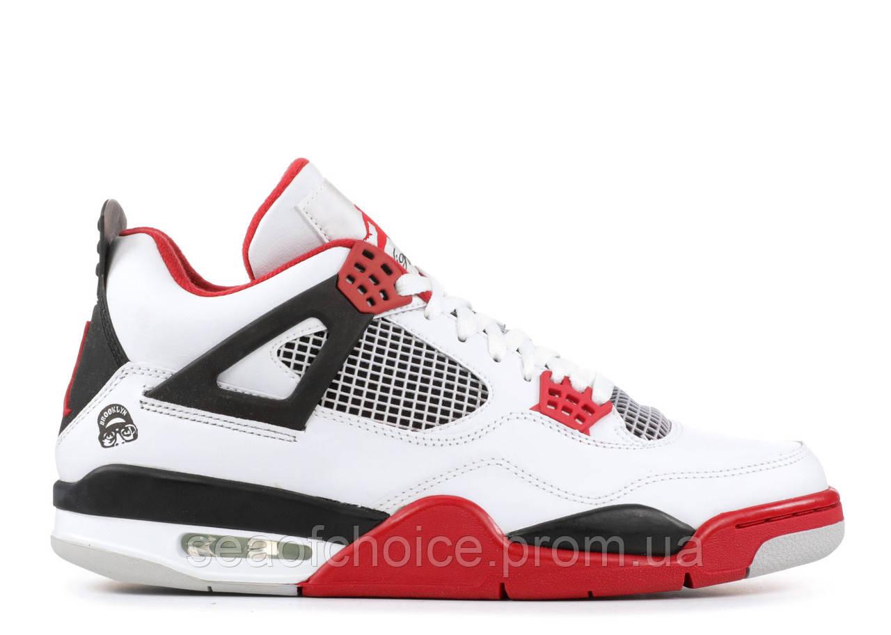 bbd18748 Мужские кроссовки Air Jordan Retro 4 Red/White/Black, цена 1 779 грн ...
