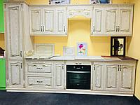 Кухня «Патина светлая»  3,1метра  Antonik