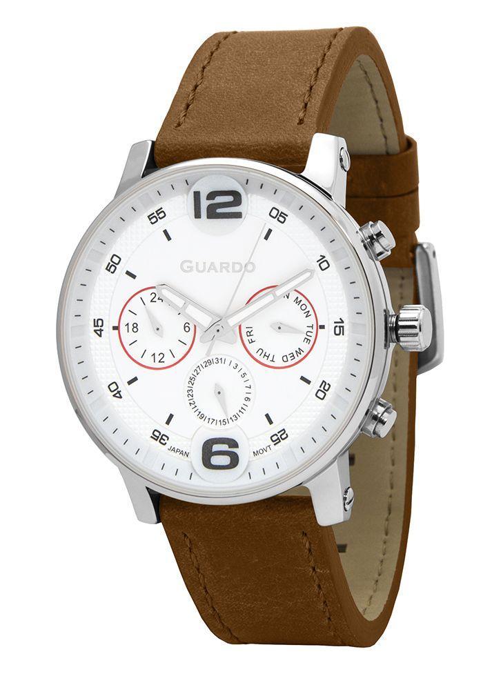 Часы Guardo PREMIUM P12432 SWBr кварц.