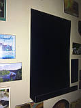 Доска на холодильник меловая магнитная 15х10 см. С полочкой для мела и маркера., фото 4