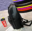 Рюкзак женский кожзам городской Pink серый, фото 8