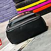 Рюкзак женский кожзам городской Pink серый, фото 7