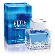 Мужская туалетная вода Antonio Banderas Blue Seduction (антонио бандерас блю седакшн)