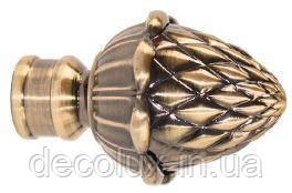 Наконечник на кованый карниз 19 мм EМ 102 Шишка