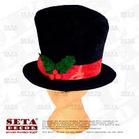 Шляпа Тролля (лепрекона) на день Святого Патрика  20х30 см синт. ткань