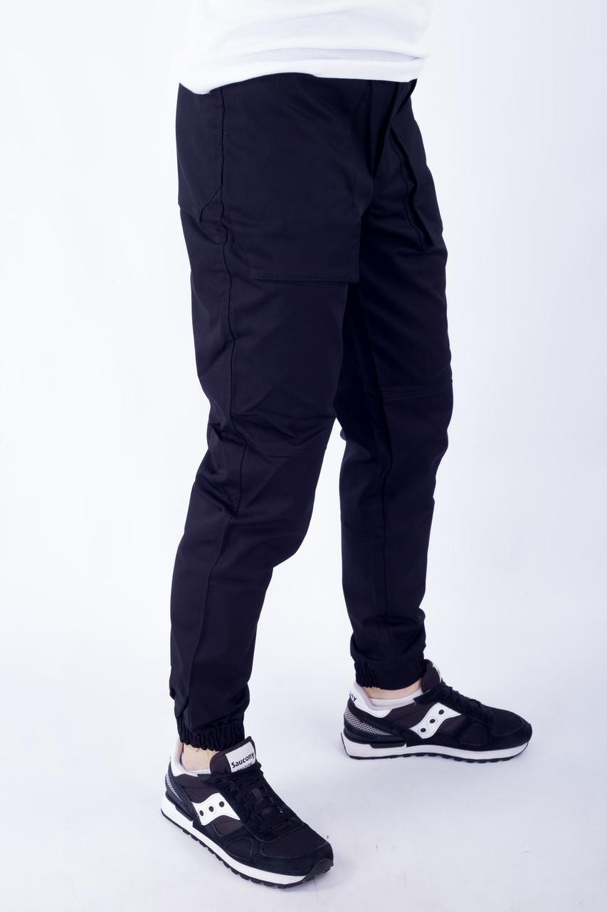 Мужские брюки карго черные ТУР модель Voron S, M, L XL