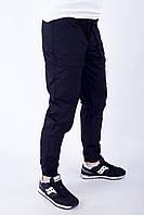 Мужские брюки карго черные ТУР модель Voron S, M, L XL, фото 1