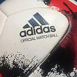 Мяч футбольный Adidas Euro Qualifier OMB AO4839 (размер 5), фото 8