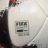 Мяч футбольный Adidas Euro Qualifier OMB AO4839 (размер 5), фото 7