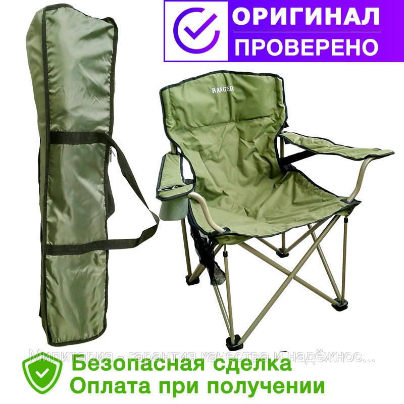 Кресло складное рыбацкое Ranger Rshore Green FS 99806