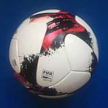 Мяч футбольный Adidas Euro Qualifier OMB AO4839 (размер 5), фото 5