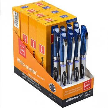 Ручка масляная «10 км» Cello синяя 1упаковка (12 штук) 26110 - 743С , фото 2
