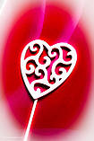 Топпер сердце на день влюблённых,Топпер сердечки, фото 2