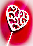 Топпер сердце на день влюблённых,Топпер сердечки, фото 3