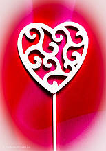 Топпер сердце на день влюблённых,Топпер сердечки