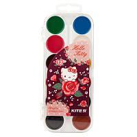 Краски акварельные Kite Hello Kitty HK19-061, 12 цветов, без кисточки