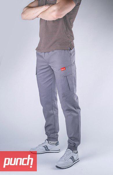 Карго штаны мужские синие Карго Раш (Cargo Rush) от бренда Punch размер XS, S, M, L
