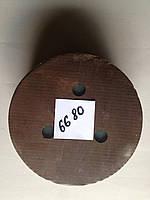 Круг со съёмной серединой на картонной основе