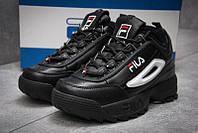 Кроссовки Fila Disruptor II женские черные, фото 1
