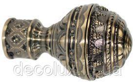 Наконечник на кованый карниз 19 мм EМ 281 Арабеска